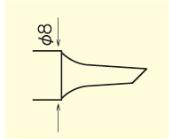 型番の見方BN8-ES
