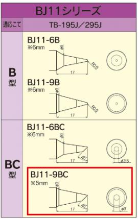 BJ11シリーズ1